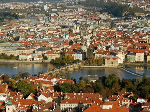 Prague Bird's Eye View