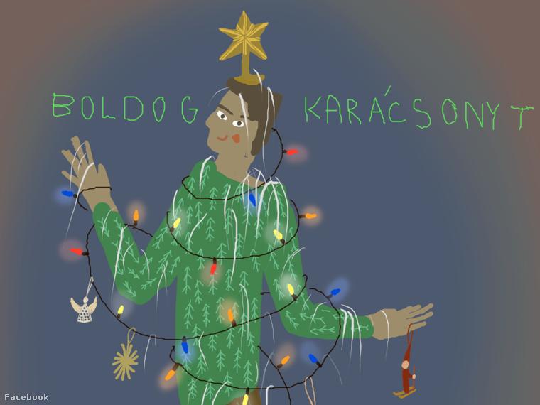 MERRY CHRISTMAS/BOLDOG KARACSONYT! Happy holidays to all in Budapest and around the world.