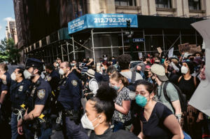 """Crowd of protesters"" in New York"", May 31st 2020. By ""Life Matters""  on Pexels.com"