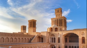 Yazd, is also nicknamed the city of windcatchers.